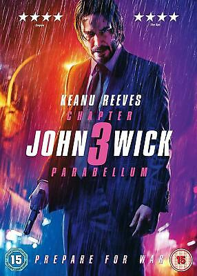 John Wick Chapter 3 Parabellum DVD New & Sealed