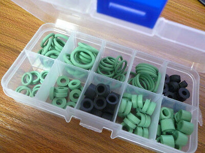 A Box of R134A A/C AC O-Ring Seal Kit Assortment O-Rings Seals Rubber Rings