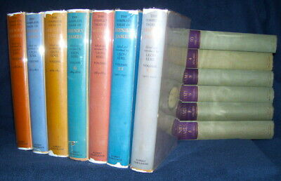 Leon Edel THE COMPLETE TALES OF HENRY JAMES 1st/dj EDEL'S COPY SIGNED in 12 vol