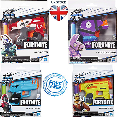 Nerf Elite Darts Gun Fortnite Microshots Blaster Pistol Kids Shooting Toys Gift