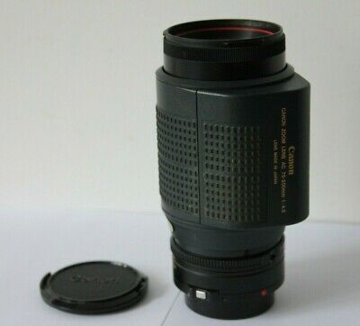 Canon FD AC 75-200mm F4.5 Auto Focus Telephoto  Zoom Macro Lens for T80 Camera.