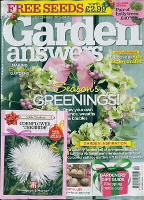 Garden Answers Magazine - DEC -Christmas Garden, Garden Gifts