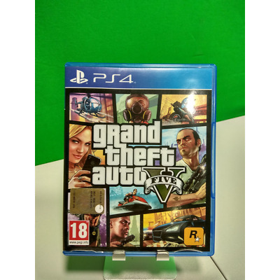 Gta V Grand Theft Auto V Ps4 Completo