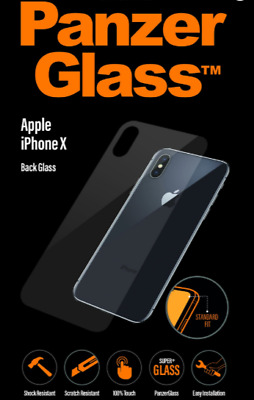 Back Screen Protector Rear Tempered Glass Apple iPhone X XS XS Max XR 7 8 Plus