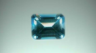 Blue Topaz Gem Sun God Ra 19thC Antique 3ct Magic Anti-Evil gem of Ancient Egypt