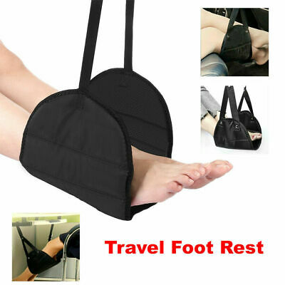 Travel Foot Rest Footrest Leg Pillow Flight Memory Foam Cushion Hammock
