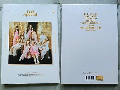 TWICE FEEL SPECIAL Album OPENED + Poster + Preorder Photocards Tzuyu Nayeon Sana