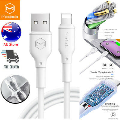 Fr iPhone 11 Pro XS MAX XR 8 7 6S USB-lightning Charging Charger Cable Data Cord