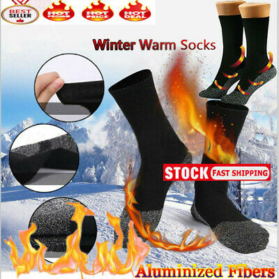 Winter 35 Below Socks Keep Your Feet Warm Dry Aluminized Fibers Insulation US