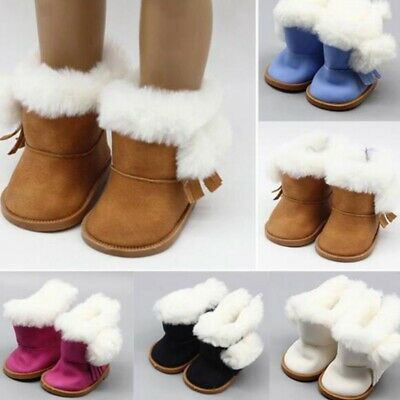 Cotton Snow Doll Boots Shoes Accessories for 18 Inch Girl Our Generation Best