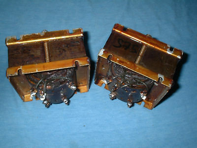 Partridge Vintage  1663  Valve Amp, Output Transformers. Matched Pair.