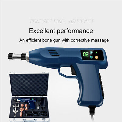 1100N Chiropractic Adjusting Tool Gun Therapy Spine Correction+6 Heads 220V