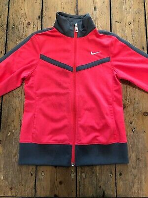 Nike Tracksuit Top 8-10 Years Florence Pink And Grey