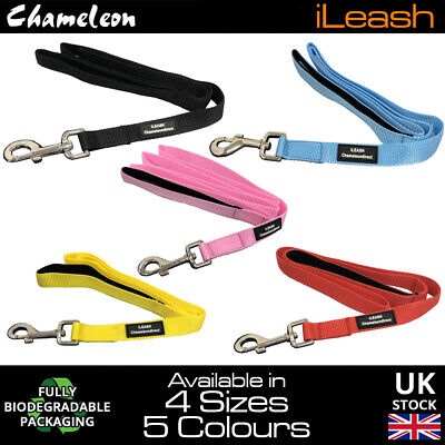 Lifetime guarantee Neoprene Padded handle dog lead leash 4 & 6 Foot 1.2m-1.8m