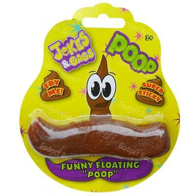 Novelty Floating Poop Joke Prank Poo Gag Christmas Stocking Filler Toy Xmas Gift