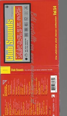 Cd--Various--Club Sounds Vol.54