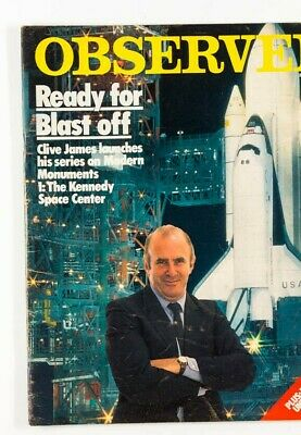 Clive James KENNEDY SPACE CENTER USA Modern Monuments TRAVEL ~ OBSERVER magazine
