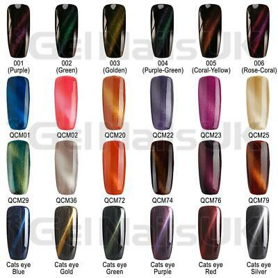 Bluesky MOST WANTED Cat Eye Collection UV LED Soak Off Nail Gel Polish Free P&P