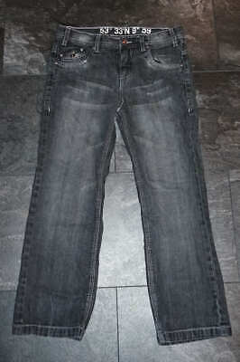 *TOP* Coole Tom Tailor Jeans Gr. S/XS (134) schwarz *BOYS*