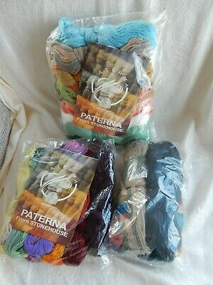 Very Large Quantity of Unused Tapestry Wool Most Paterna