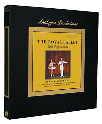Ernest Ansermet The Royal Ballet Gala Performances 200g 45rpm 5LP NEW sealed