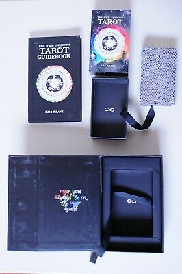 The Wild Unknown Tarot Deck w/ 207 Page Guidebook 1st edit, Created by Kim Krans