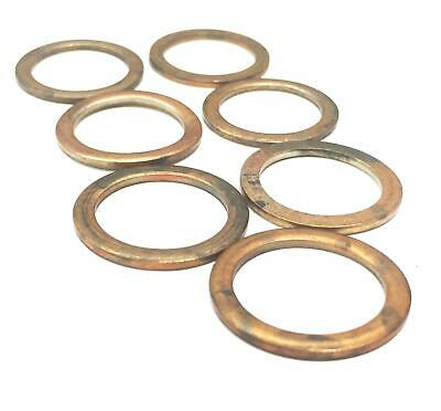 Cummins OEM Copper Packing Washer 3920773 [Lot of 7] NOS
