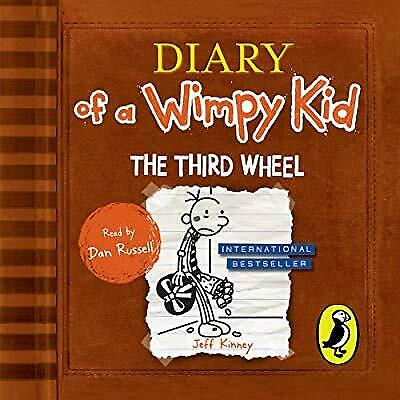 Diary of a Wimpy Kid: The Third Wheel (Book 7), Kinney, Jeff, New CD