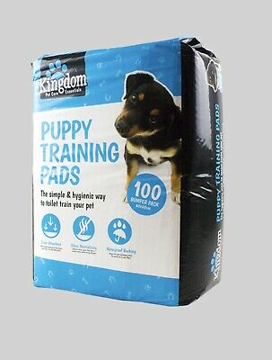 100 Large Super Ultra Absorbent Pet Dog PUPPY TRAINING PADS Doggy Poop Toilet