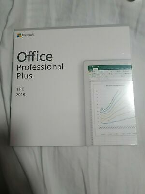 Microsoft Office 2019 Professional Plus Retail DVD - 1 PC
