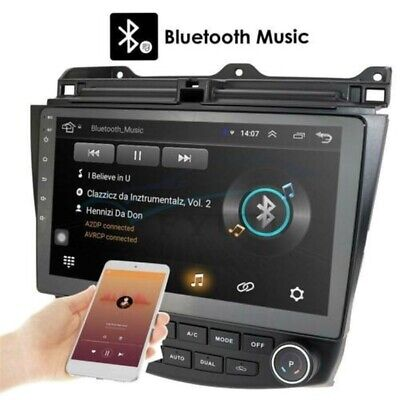 For Honda Accord 2003-2007 HD 10.1'' Android 9.1 Car Stereo Radio GPS WIFI 3G 4G