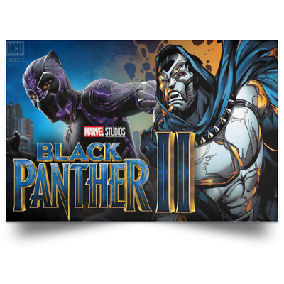 Marvel Black Panther II 2022 New Movie Poster sizes 24x16 36x24