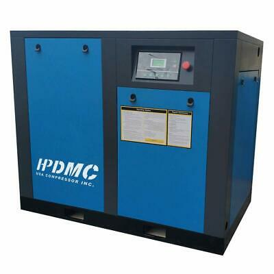 Rotary Screw Air Compressor 30HP 230V/460V/60Hz 3 Phase Built-in Oil Separator