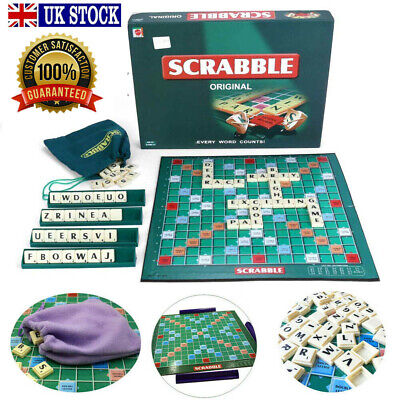 New Original Scrabble Board Game Family Kids Adults Educational Toys Puzzle Game