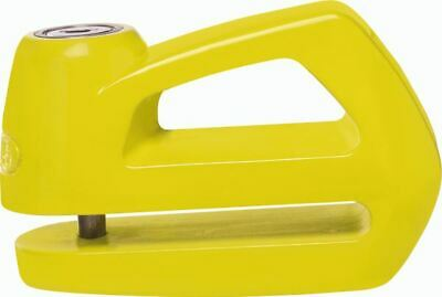 Abus Element 285 Motorcycle Brake Disc Lock Yellow 5mm