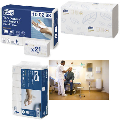 Tork Xpress soft Multi-Fold Hand Paper Towels Compatible with Tork H2 Multifold