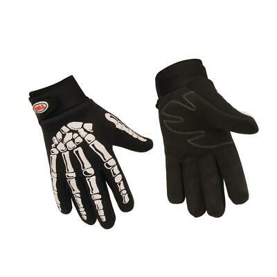 Bell 3924 Skeleton Mechanic Gloves, Black, Size M