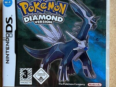 New Sealed Pokemon Diamond Version For Nintendo Nds 3Ds Ds Dsi