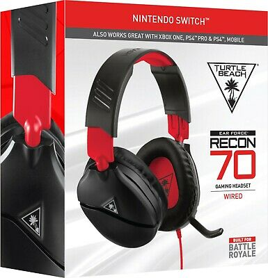 Turtle Beach Ear Force Recon 70N Headset for PS4, Xbox One, Switch NEW Gaming