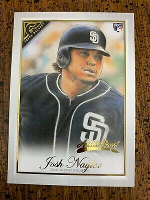 Josh Naylor Rc - 2019 Topps Gallery Artist Proof Parallel Sp Card #40 Padres