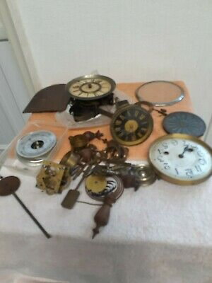 Antique / Vintage Clock Movements And Parts