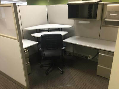 Used Office Cubicles, Knoll Morrison 8x6 Cubicles