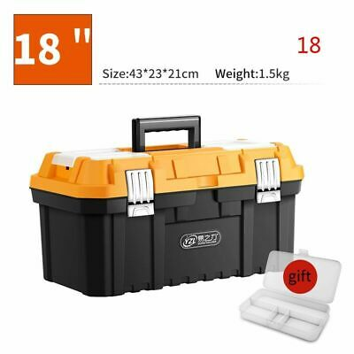 Tool Box Plastic Portable Tool bags Large Storage For Tools Components Woodworke