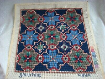 Lovely Glorafilia Design (4049) Tapestry Cushion Cover  -  Completed