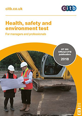 CSCS Test BOOK 2018 Test for Managers and Professionals, Latest Edition CITB NEW