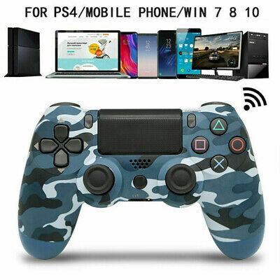 PS4 Wireless Controller Dualshock 4 Bluetooth Gamepad PLAYSTATION 4 Camo BLUE