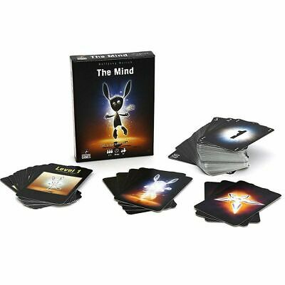 The Mind Card Game Family Friend Card Board Party Game English Version Xmax Gift