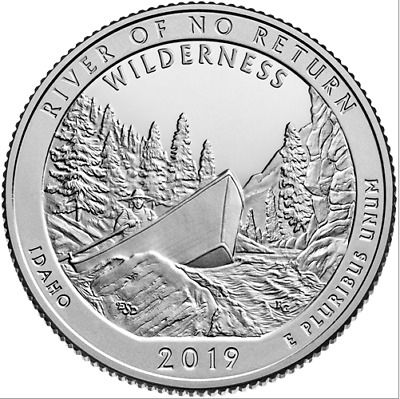 US State Park Quarters - 2019 Frank Church River - P/D/S Uncirculated - UK Stock