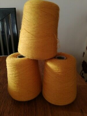 WOOL CONE ONE PLY 2/30 3 X 4.5gms GOLD