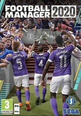 Football Manager 2020 PC (Out Now) Steam Download